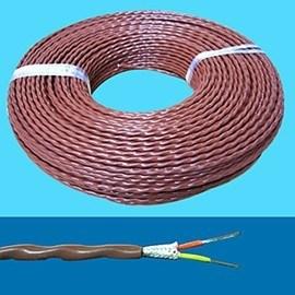 China UL3075 Silicone Rubber Insulated and Fiberglass Braided Wire ...