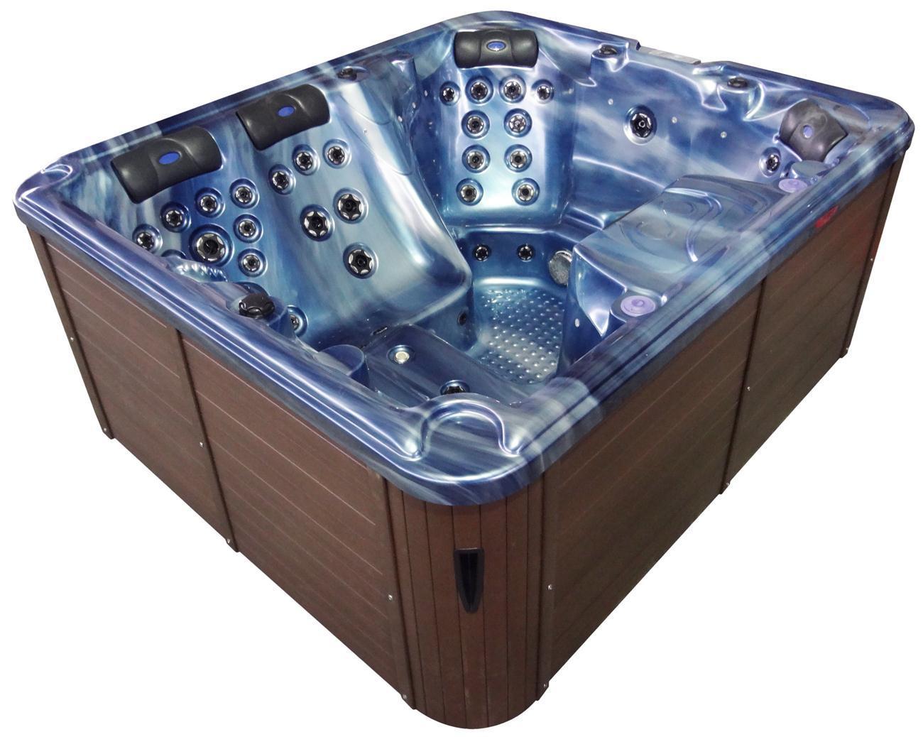 China Hot Sale Massage Outdoor SPA Balboa System Hot Tub Jacuzzi ...