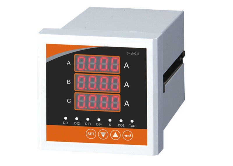 Digital Amp Meter Panel : China three display rail digital panel meter ac digital ammeter 80