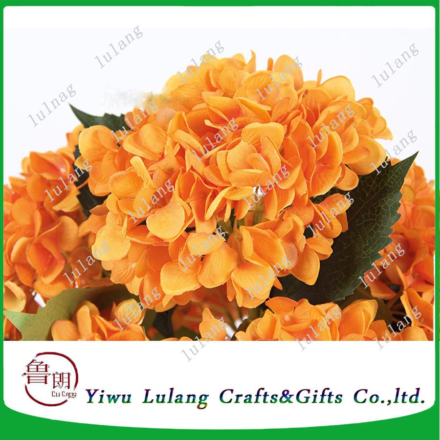 China hot selling autumn color hydrangea silk cheap wholesale hot selling autumn color hydrangea silk cheap wholesale artificial flowers izmirmasajfo