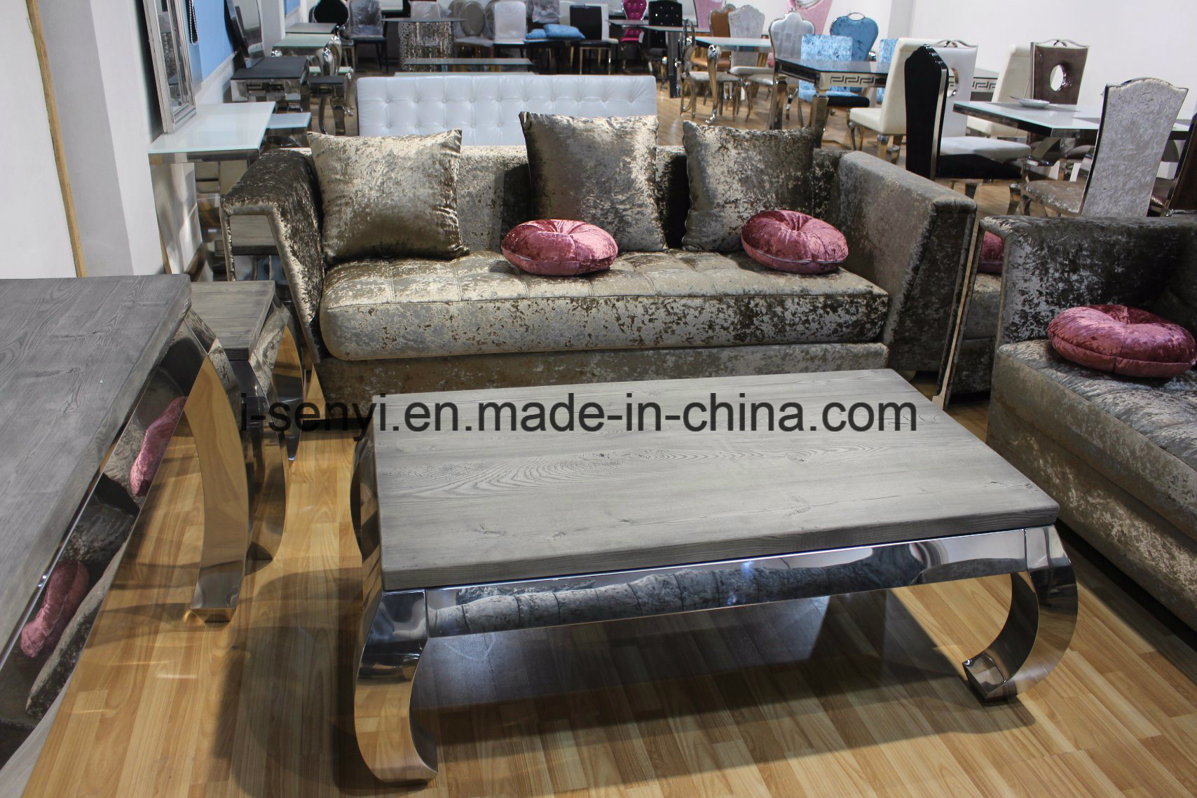 China Modern Italian Living Room Furniture Hotel Reception Sofa 1 Seat Home