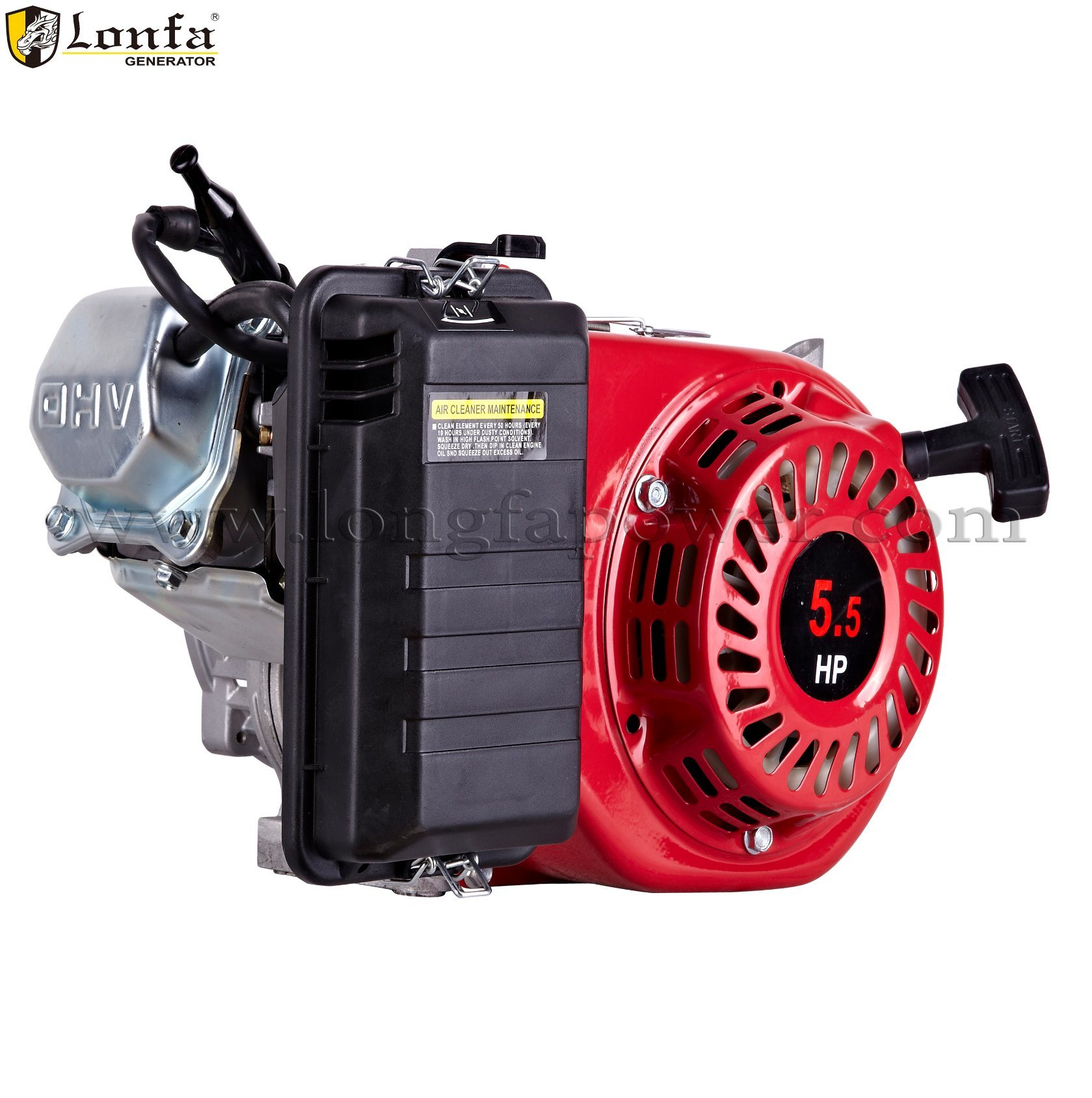 China Honda Gx160 Type 150cc 55hp Mini Petrol Gasoline Generator