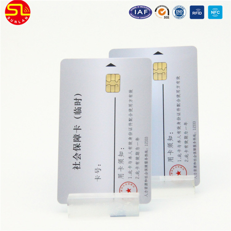 ISO7816 PVC 24c08 Chip Contact IC Card pictures & photos