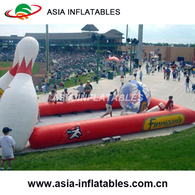 Inflatable Bowling Ball Filed with Human Bowling Ball