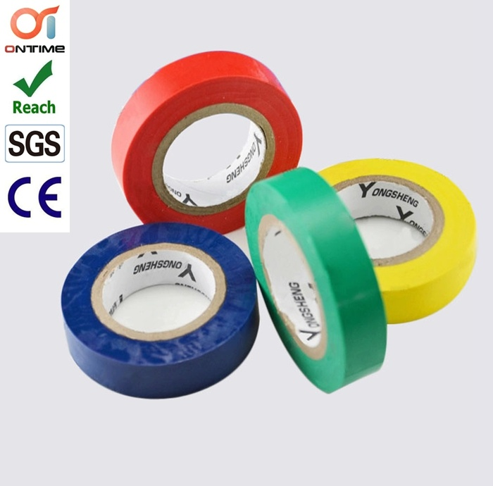 [Hot Item] Colorful 3m Quality RoHS and Reach Approval Type PVC Electrical  Tape