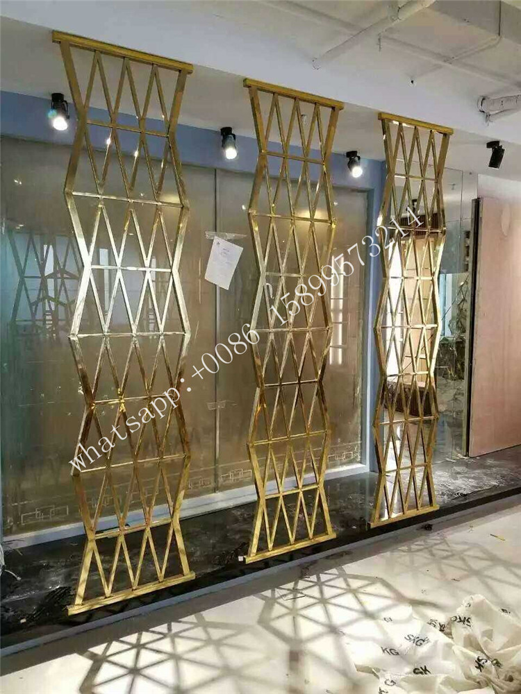 China Floor to Ceiling Stainless Steel Room Dividers Partitions