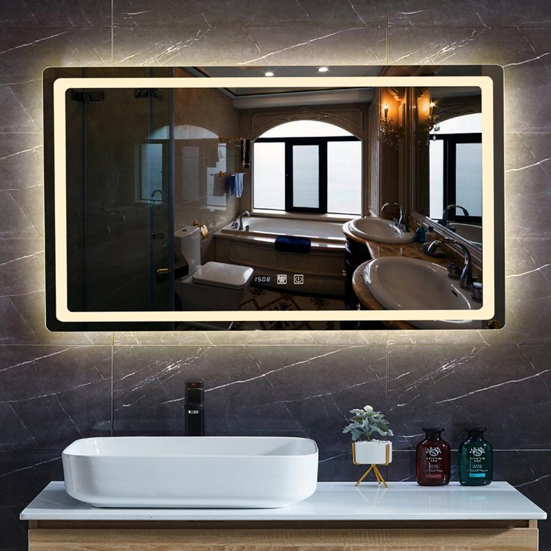 China Square Defogger Led Mirror, Bathroom Infinity Mirror