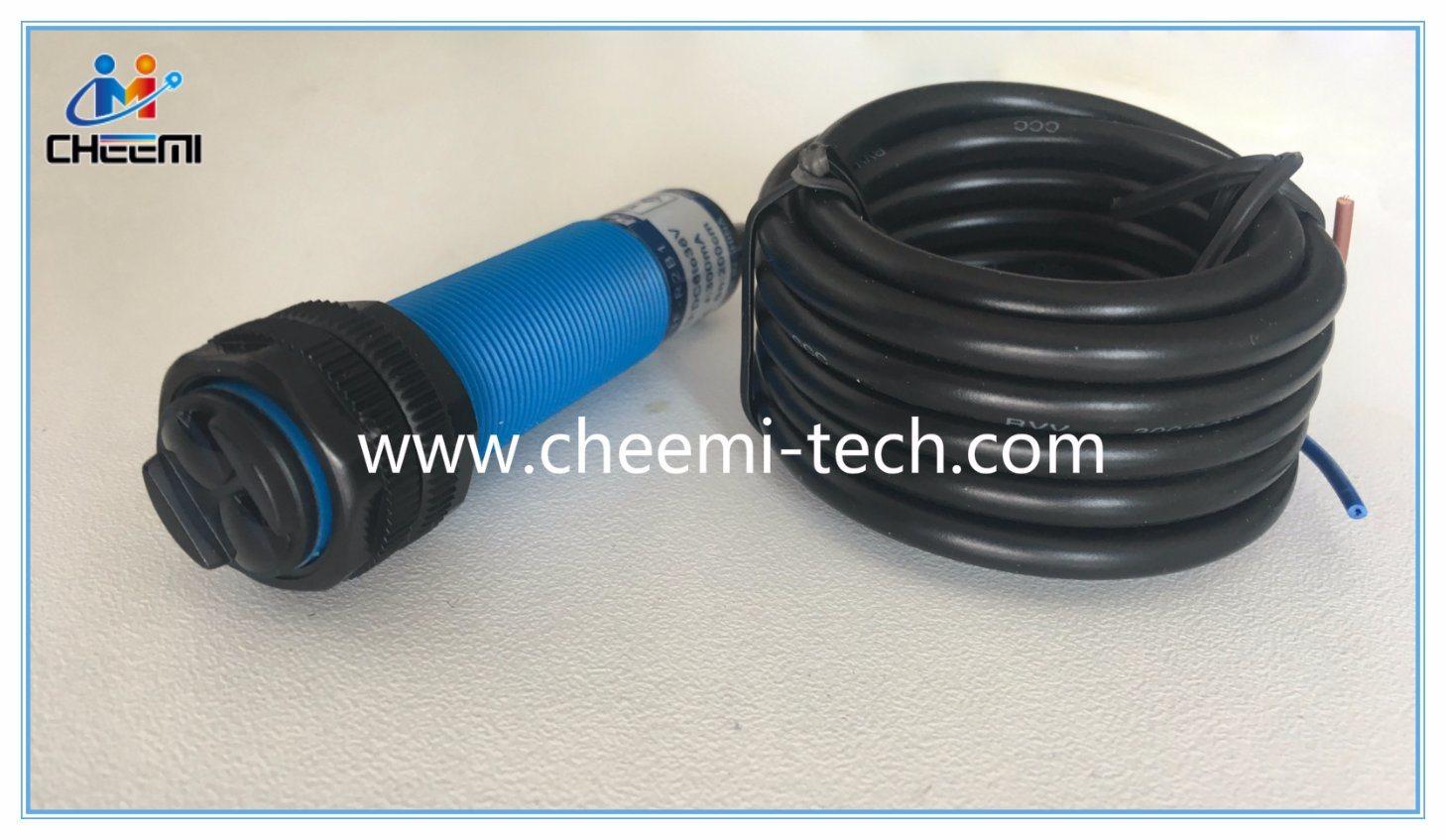China M18 Plastic Photoelectric Switch Diffuse Mode Sensors NPN/PNP ...