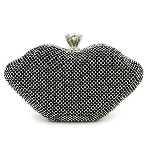 Hot Selling Crystal Stone Evening Bags Shining Party Clucth Bags Lady Handbag Rhinestone OEM Factory in Guangzhou Eb870