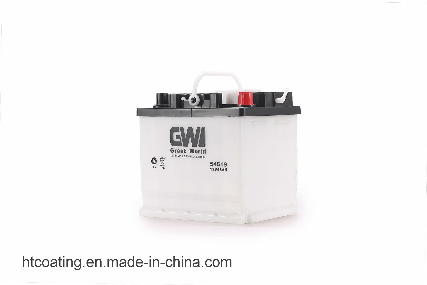 China Din45 12v 45ah Dry Charged Lead Acid Automotive Power Battery Charger Automatic Circuit Electronic Car