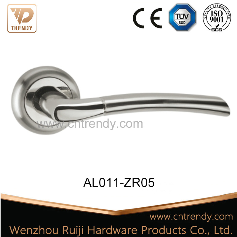 Hot Item European Clic Style Well Ing Aluminum Door Hardware Lock Handle Al011 Zr05