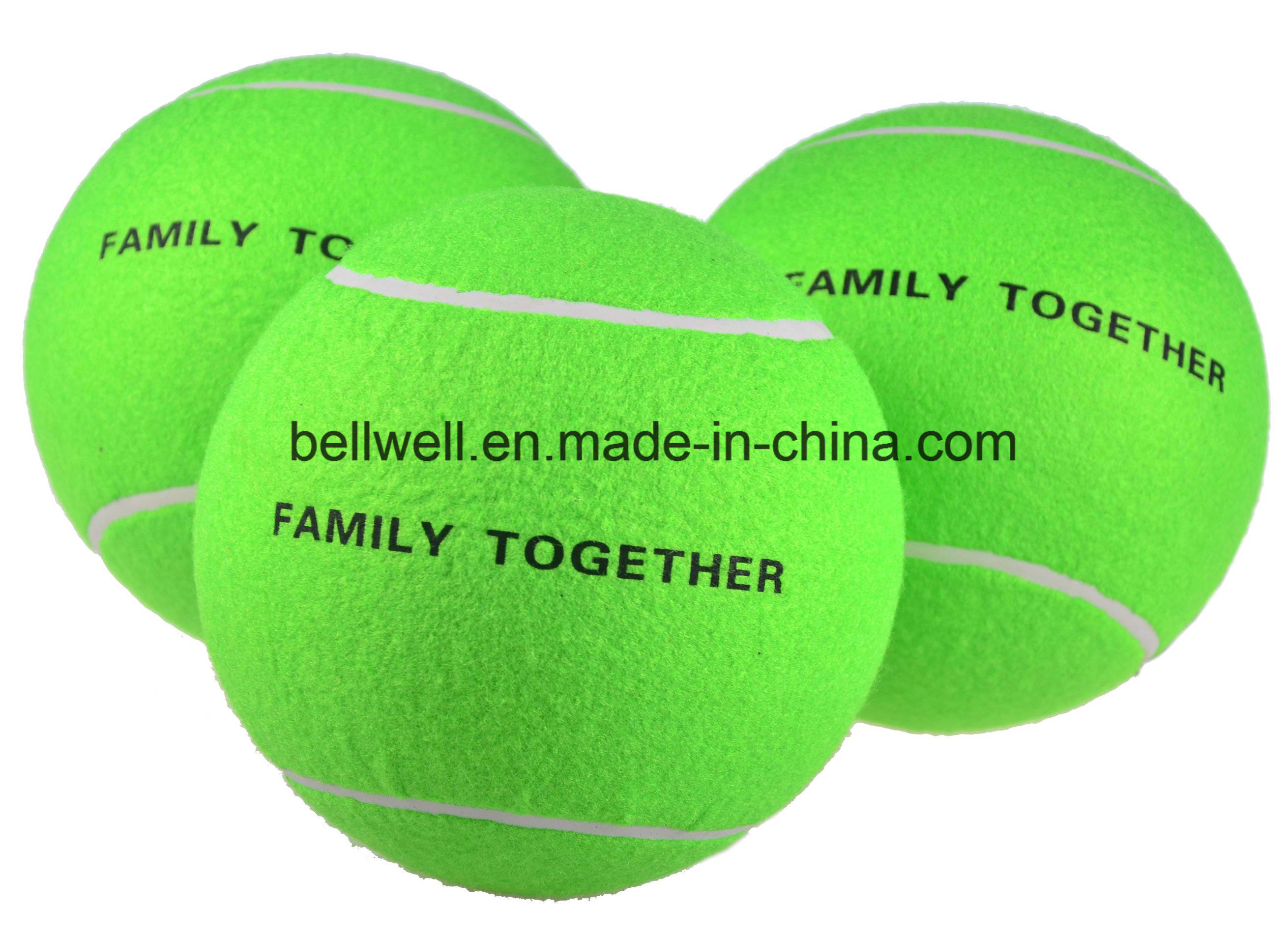 Customized Size Fabrics Inflatable Jumbo Tennis Ball