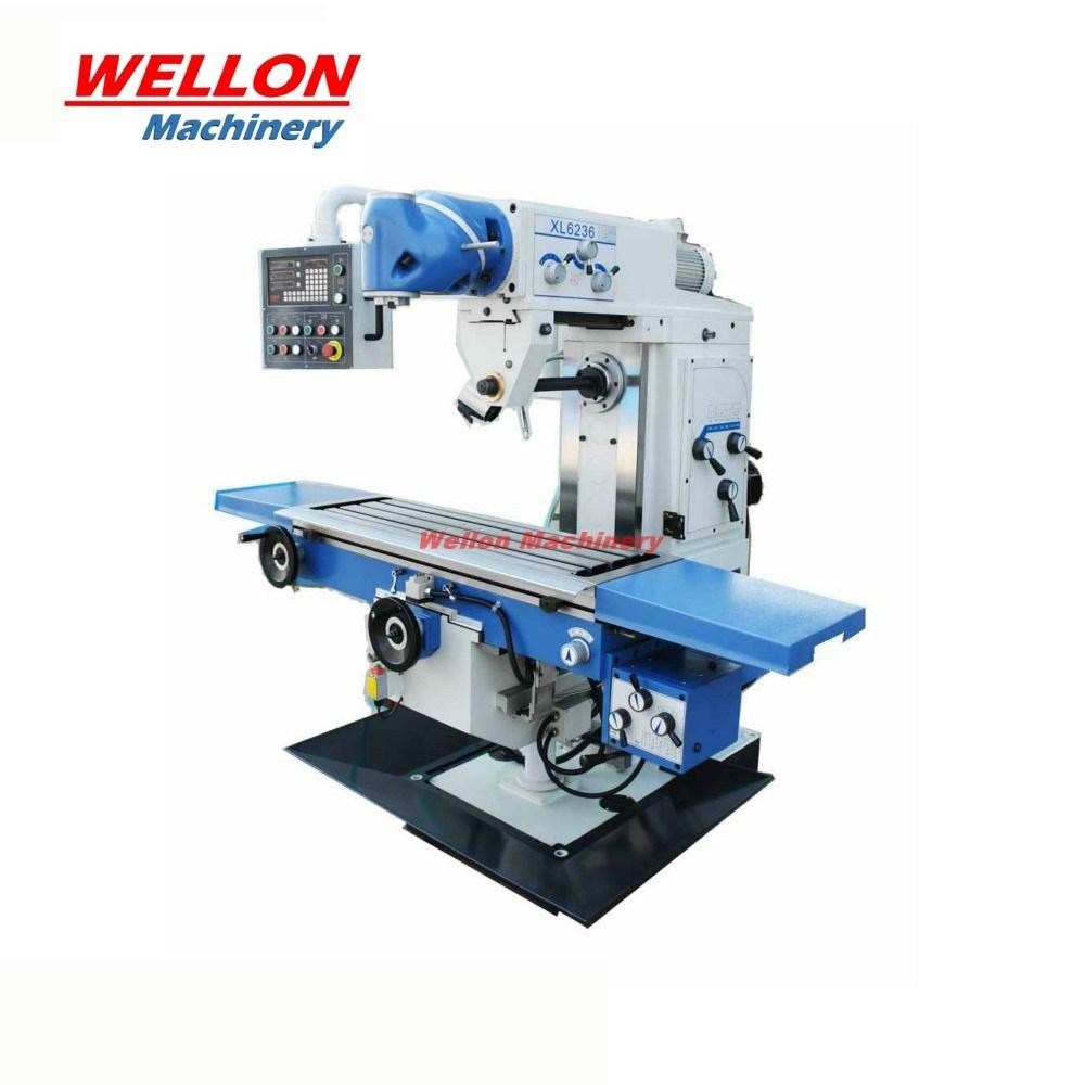 Horizontal Milling Machine >> Hot Item Universal Milling Machine With Ce Approved Vertical Horizontal Milling Machine Xl6236