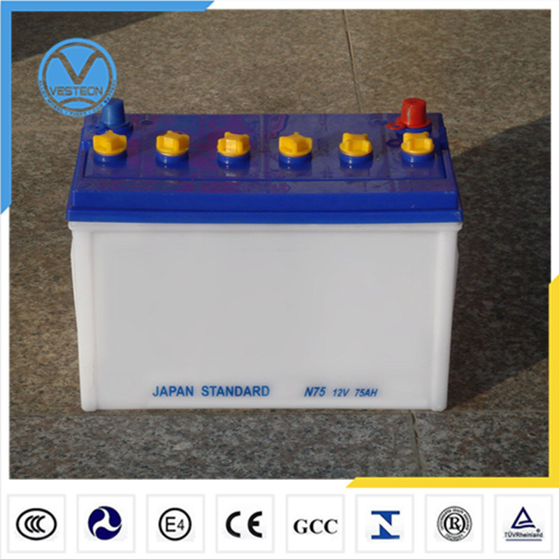China Auto Truck Car Battery (12V 60ah) pictures & photos