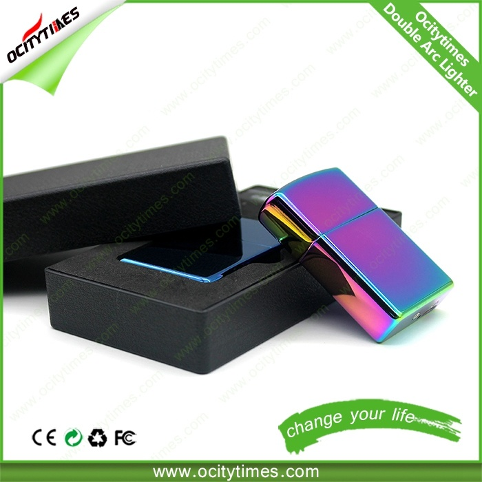 2015 Flameless Electronic Rechargeabe Plastic Cigarette USB Lighter with Logo pictures & photos