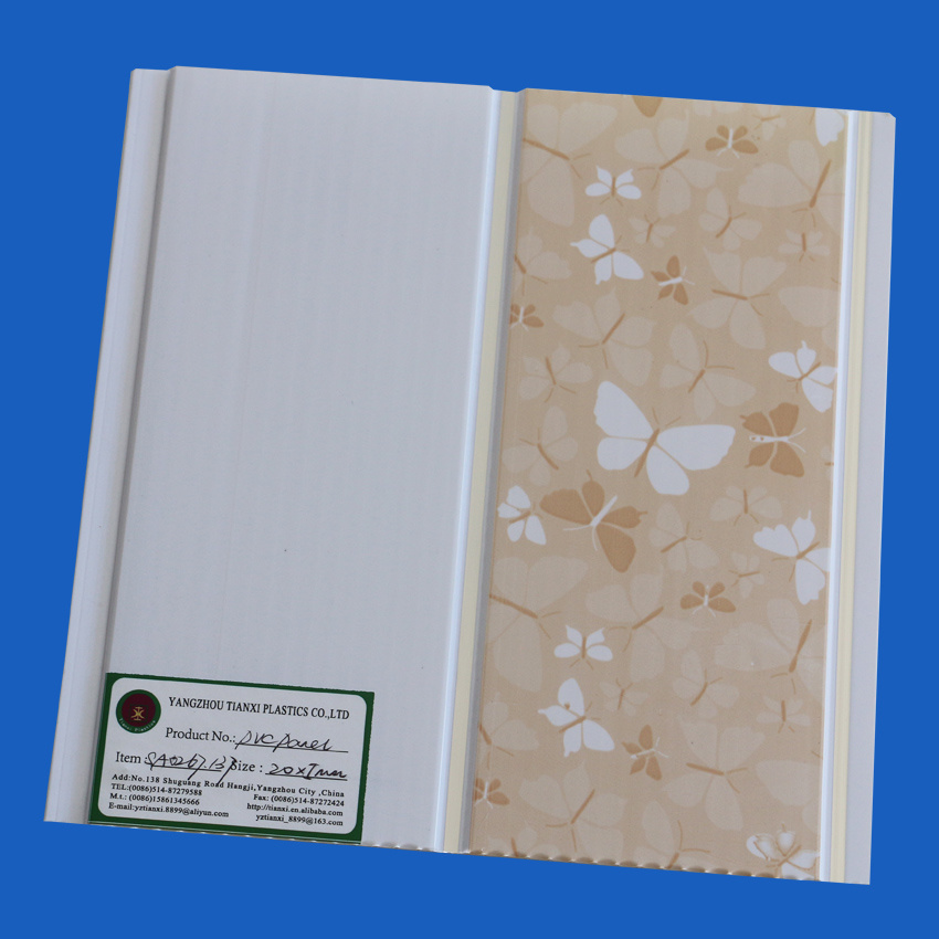 Printing PVC Ceiling Tiles Ceiling Boards 6-10mm Thickness pictures & photos