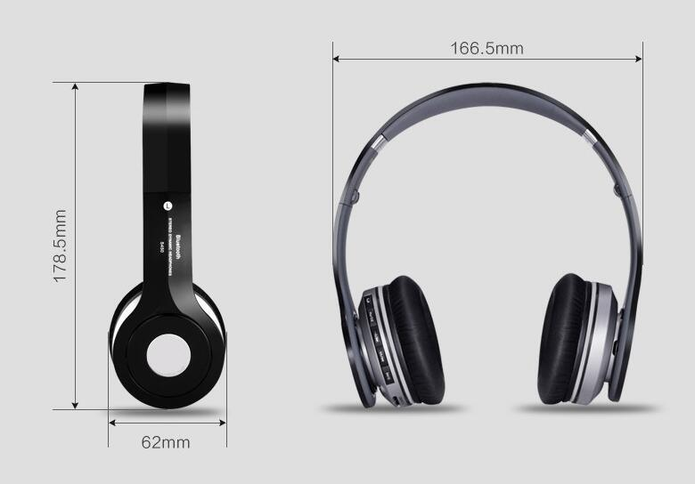 Wireless Bluetooth FM TF Headphone with Logo pictures & photos