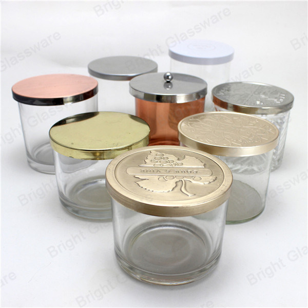 China Custom Design Metal Candle Lid with Logo Engraved ...
