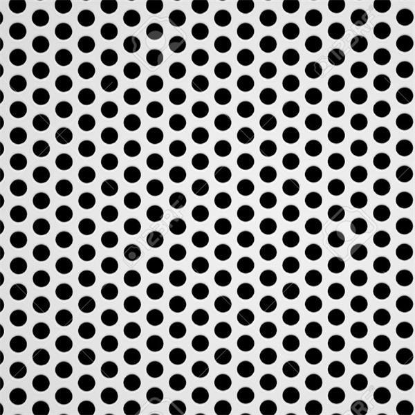 China Round Hole Pattern Metal Decorative Stainless Steel Perforated Custom Pattern Sheets
