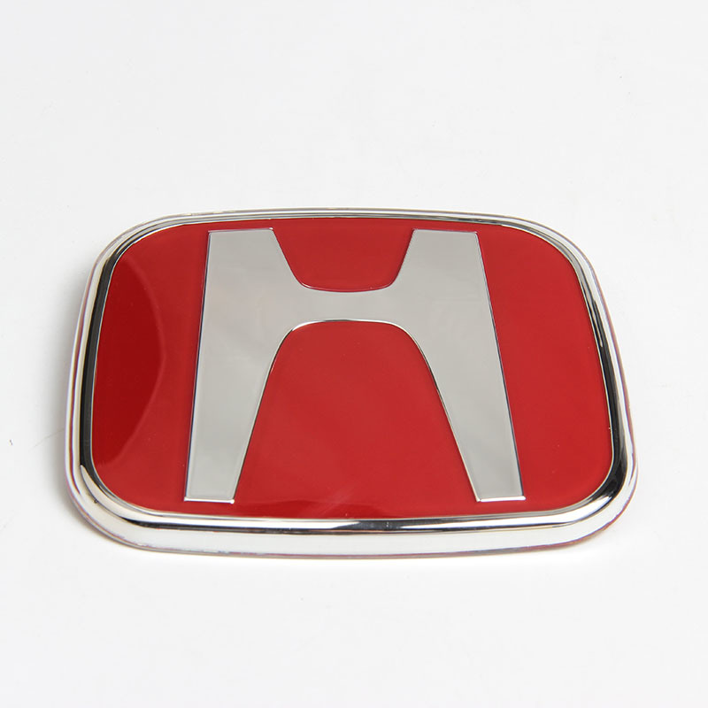China Red Emblem Jdm Type R For Acura Honda Civic Integra Accord Rsx - Red acura emblem