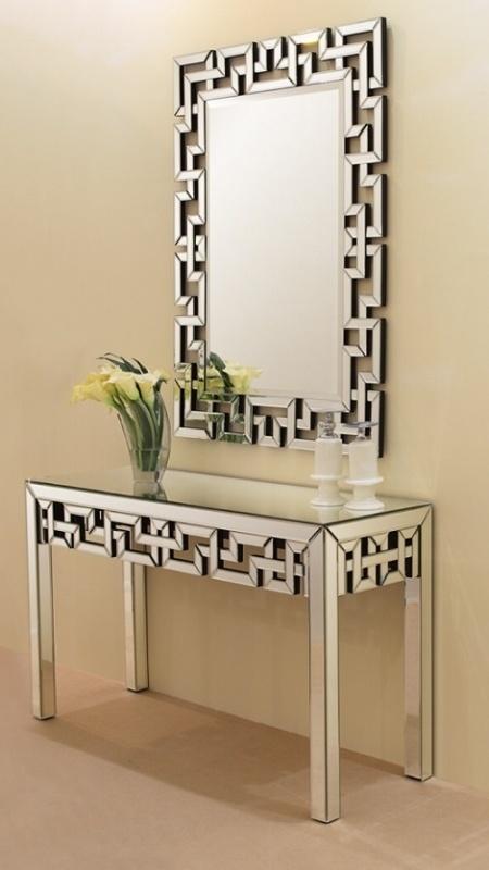 China Simple Design Glass Dresser Living Room Mirrored Dressing ...