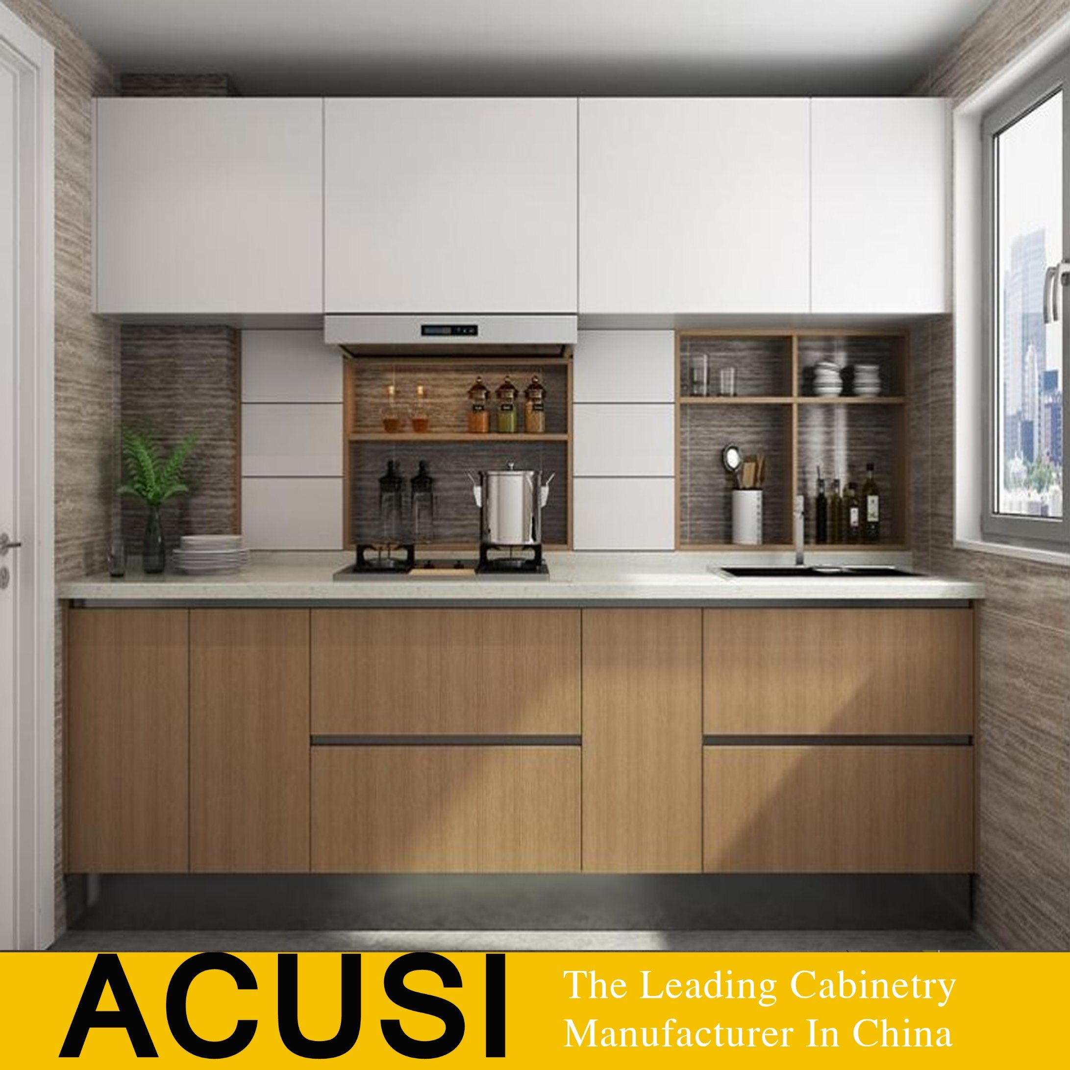 China Italian Style Finger Pull Style Lacquer Door Kitchen Cabinet Acs2 W174 China Kitchen Cabinets Kitchen Furniture