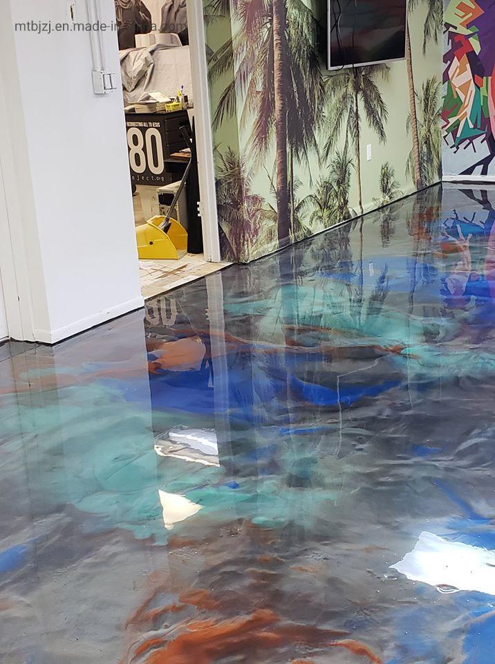 China Epoxy Metallic Resin Floor
