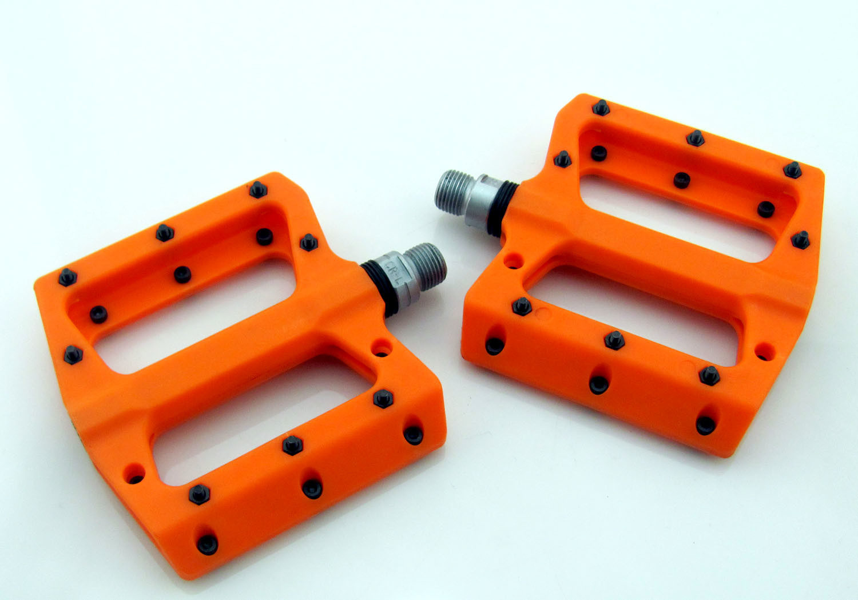 "Orange 9//16/"" Bicycle Pedal BMX MTB Road Bike Pedals"