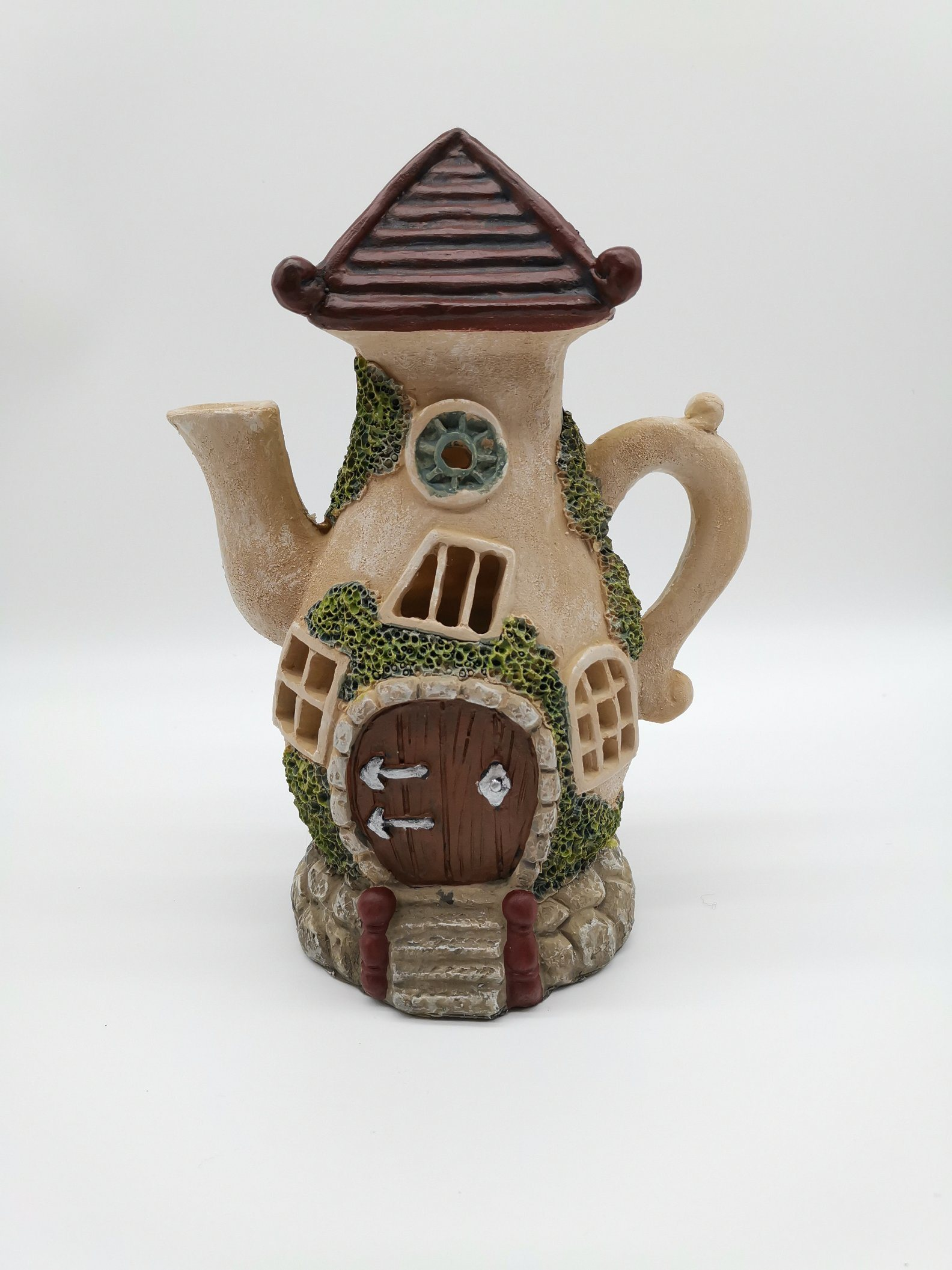 Image of: China Unique Funny Fairy House Statues Outdoor Led Solar Garden Light Decorations China Polyresin Solar Light And Polyresin Garden Decorations Price