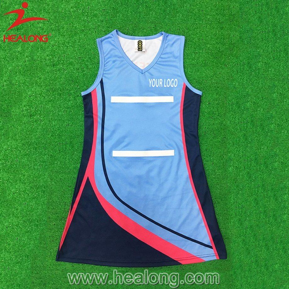China Healong Sportswear Sublimation Printed Customized