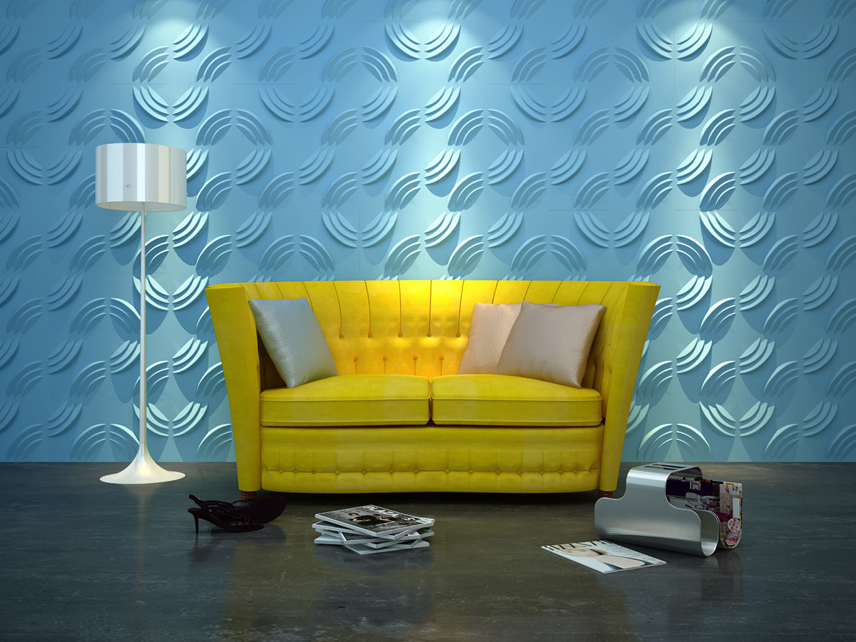 China Acoustic Heat Insulation 3D Wall Panel for Meeting Room ...