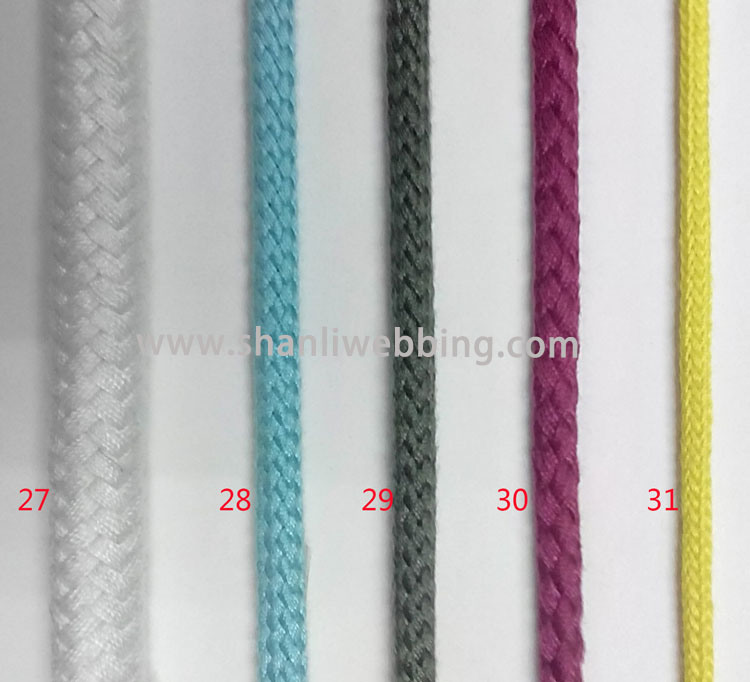 High Quality Double Braided Polyester Cotton Rope
