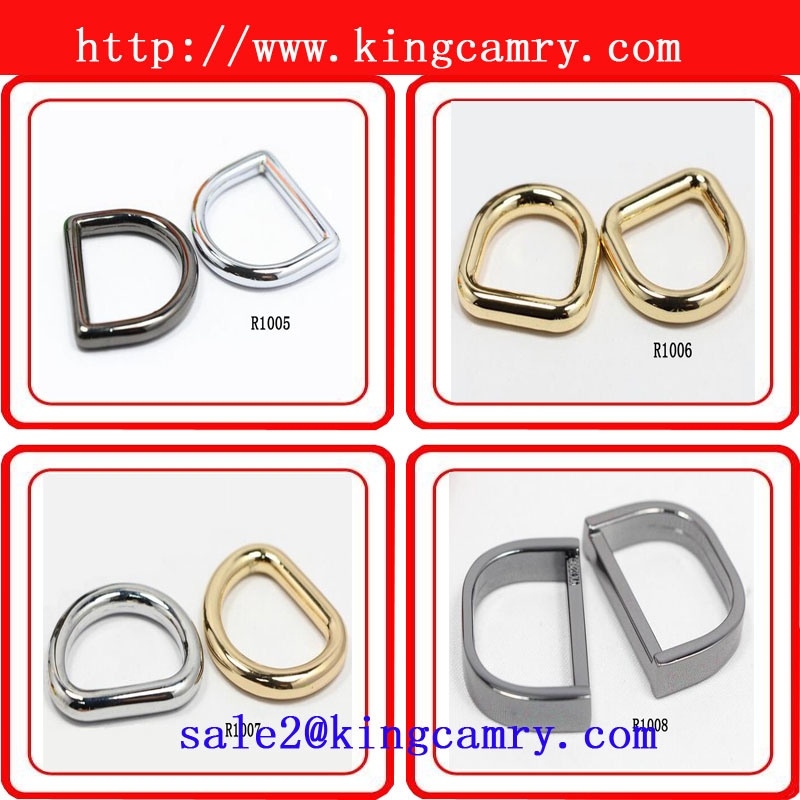 Handbag Hardware Accessories Ring Diecast Zinc D Rings Metal Ring Zinc Alloy D-Ring for Garment, Bags and Shoes Bag Ring pictures & photos