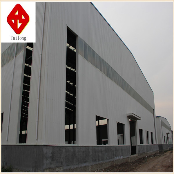 Prefab Building Large Span Light Steel Structure Workshop pictures & photos