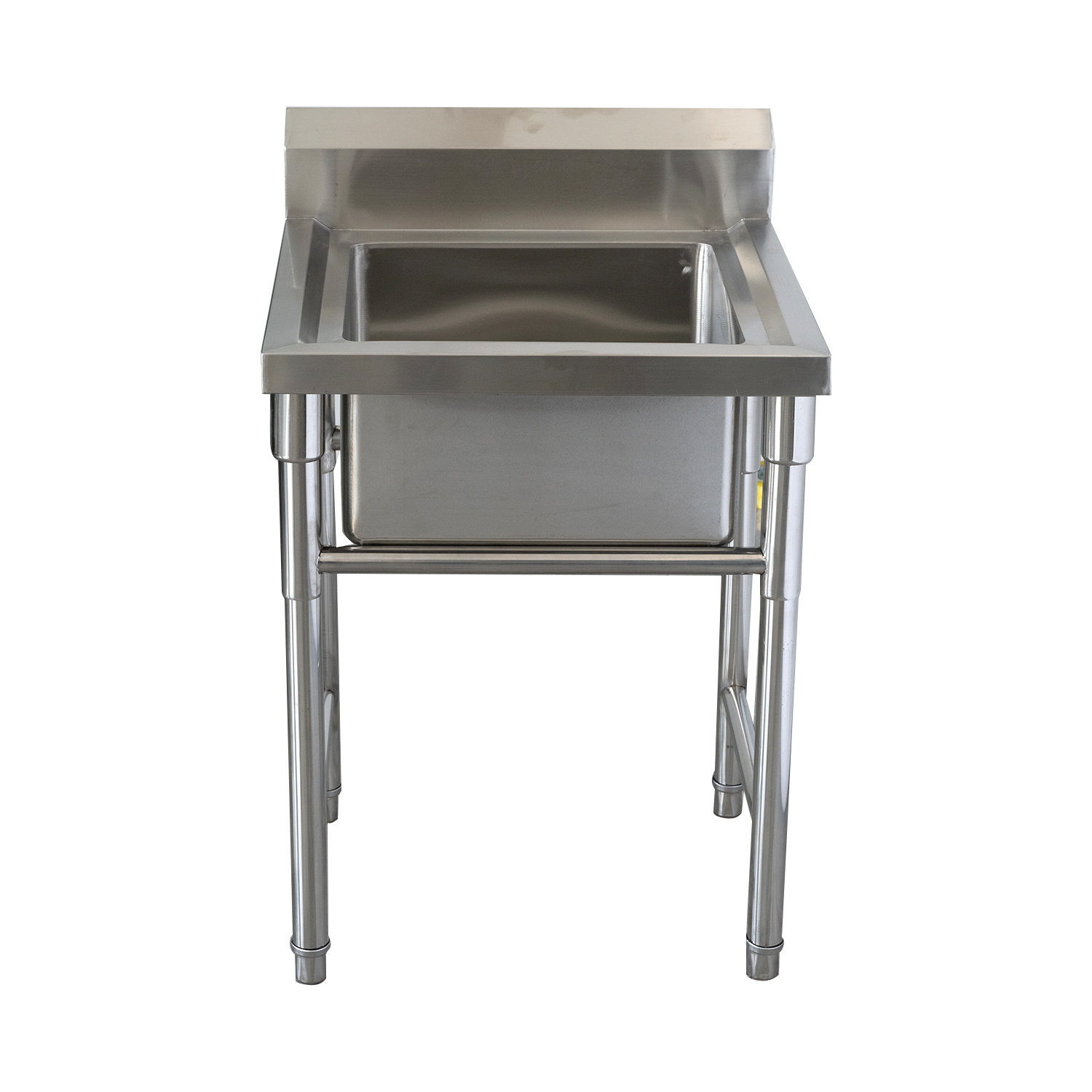 China Commercial Free Standing 201 316 Stainless Steel Single Bowl Kitchen Sink Table China Freestanding Double Bowl Stainless Steel Sink Stainless Steel Kitchen Sink For Sale