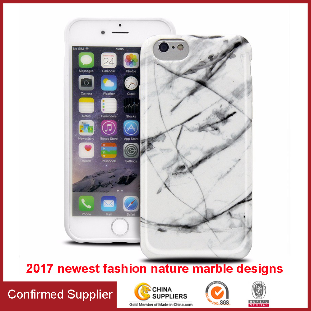 new product 4b199 7b7c5 [Hot Item] 2017 Latest Fashion Design Hot Selling Custom Nature Marble  Style IMD TPU Cell Phone Back Cover Case for iPhone & Samsung Galaxy Phones