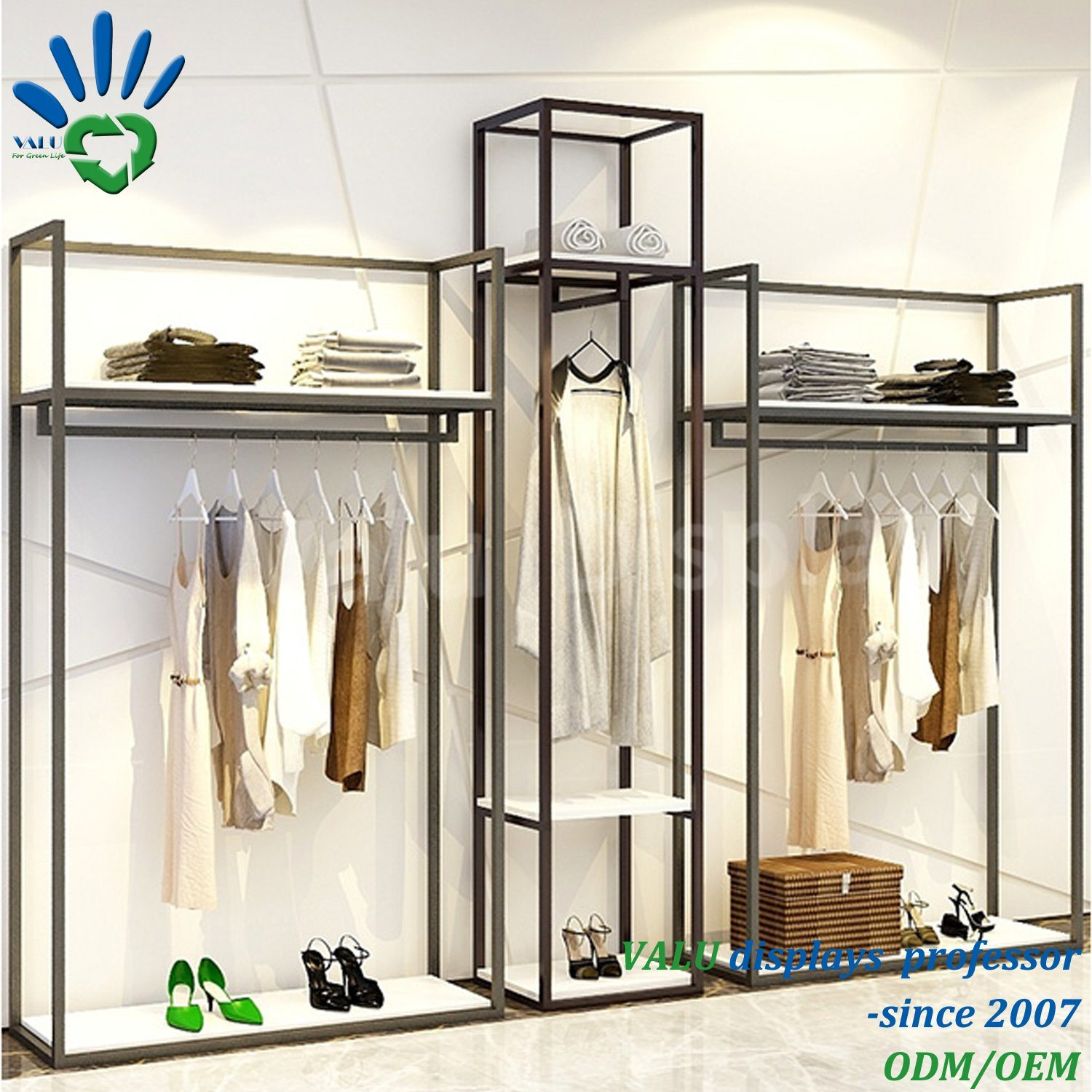 China Fashion Design Clothes Shop Interior Design Garment Shop Decoration Clothing Store Furniture Photos Pictures Made In China Com
