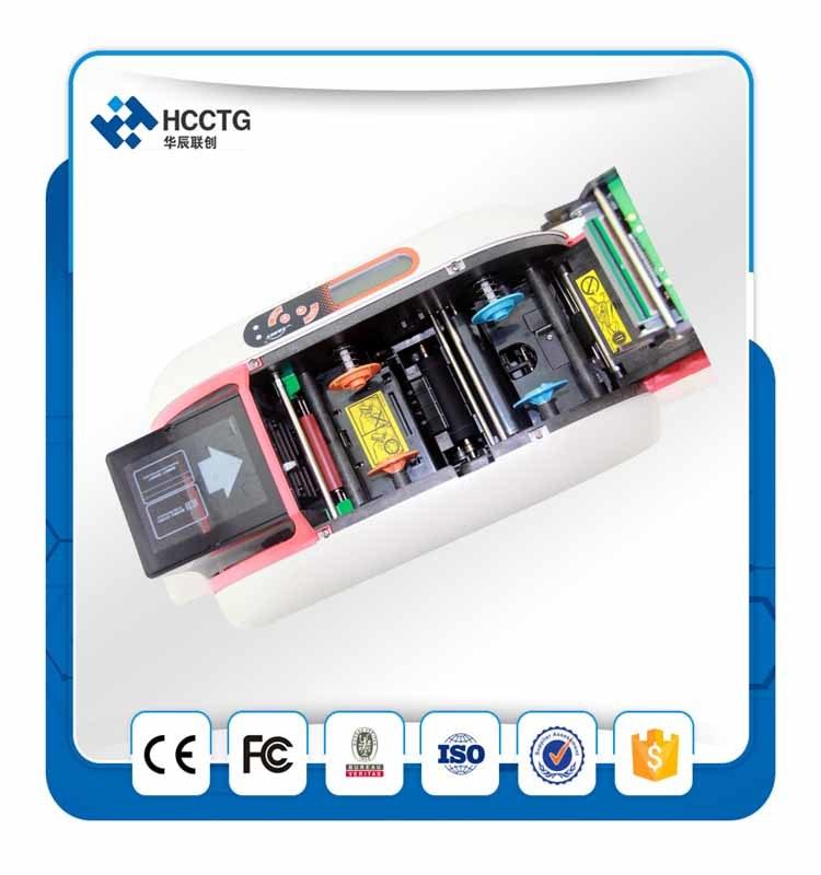 China Business Card NFC Card Printer Plastic T12 PVC Card Printer ...