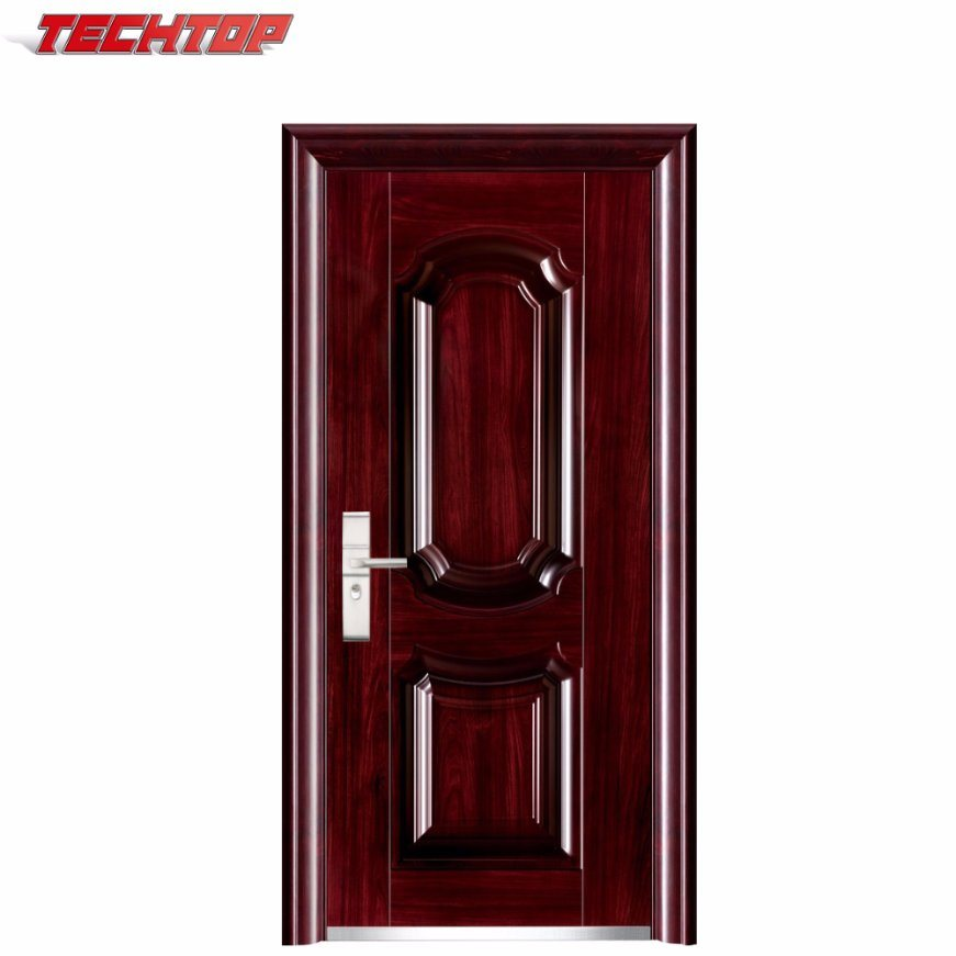 China TPS-091 Good Price Solid Wooden Doors, Wooden Main Door Design ...