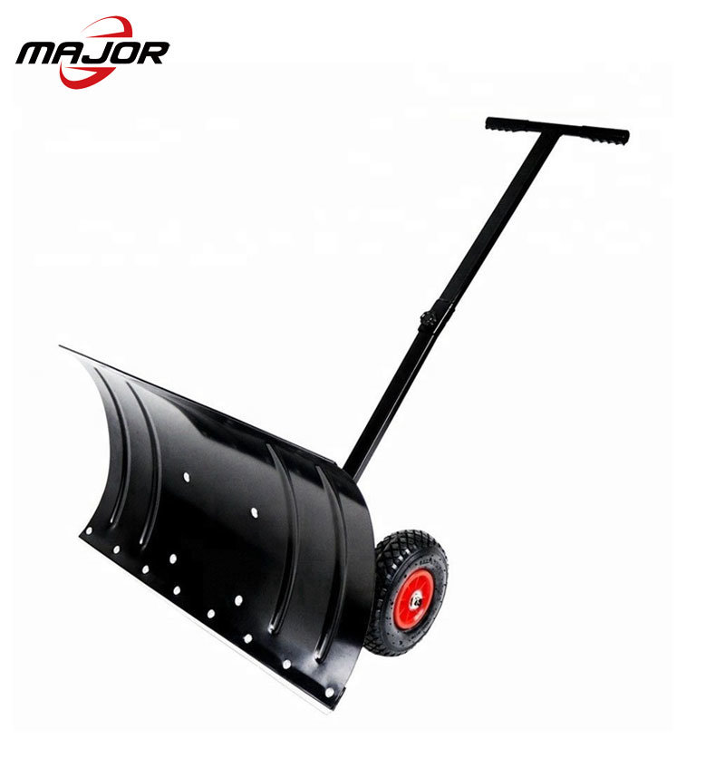 China Adjustable Wheeled Heavy Duty Rolling Snow Plow