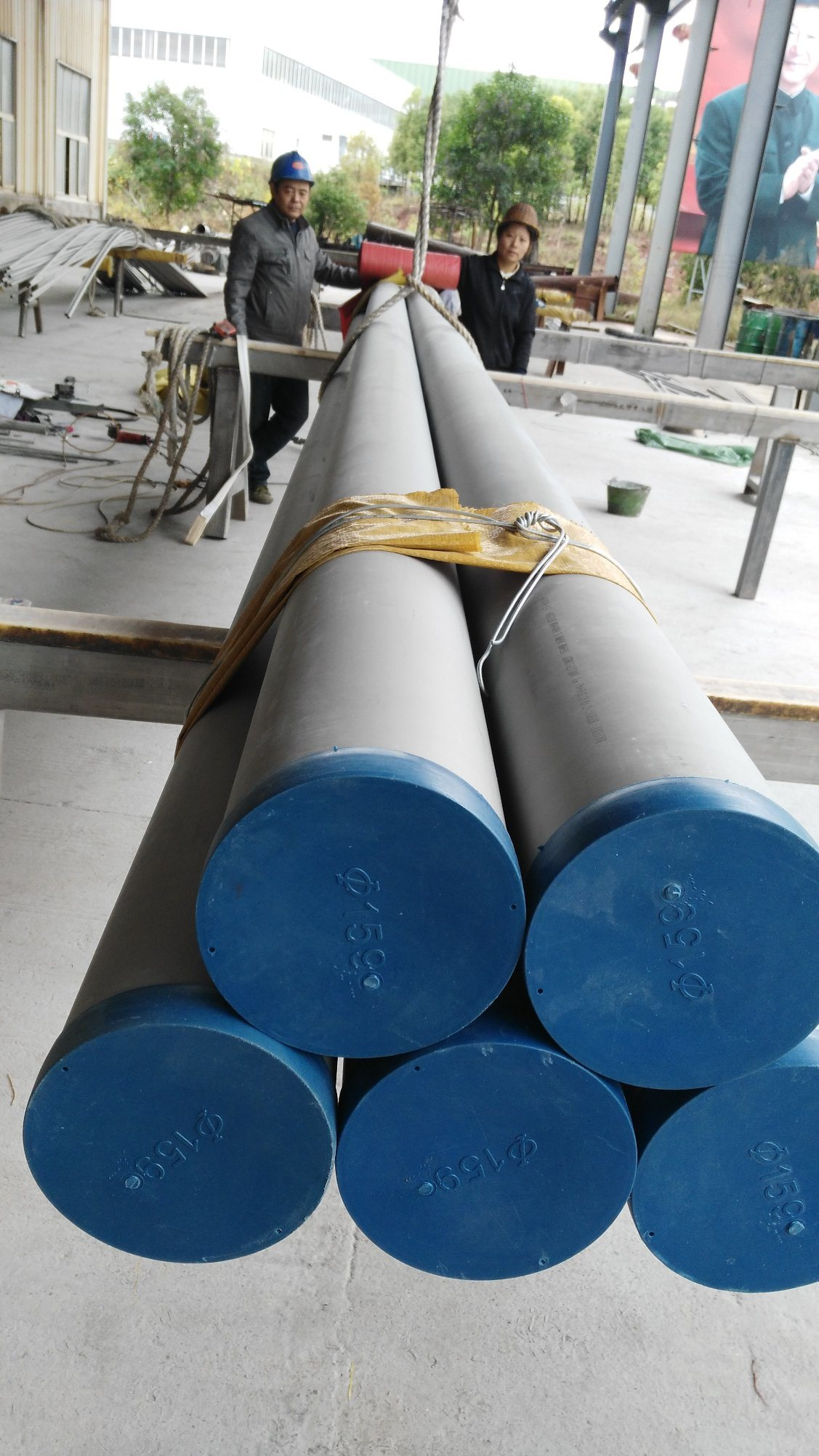 Tp321 ASTM A312 Stainless Steel Seamless Pipe with PED-TUV & ISO 9001 Certificate