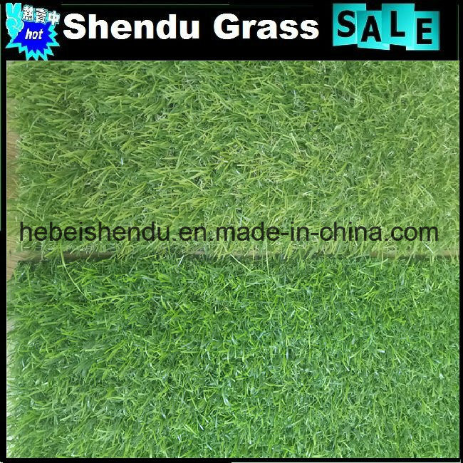 PE+PP Artificial Lawn Grass for Garden 20mm