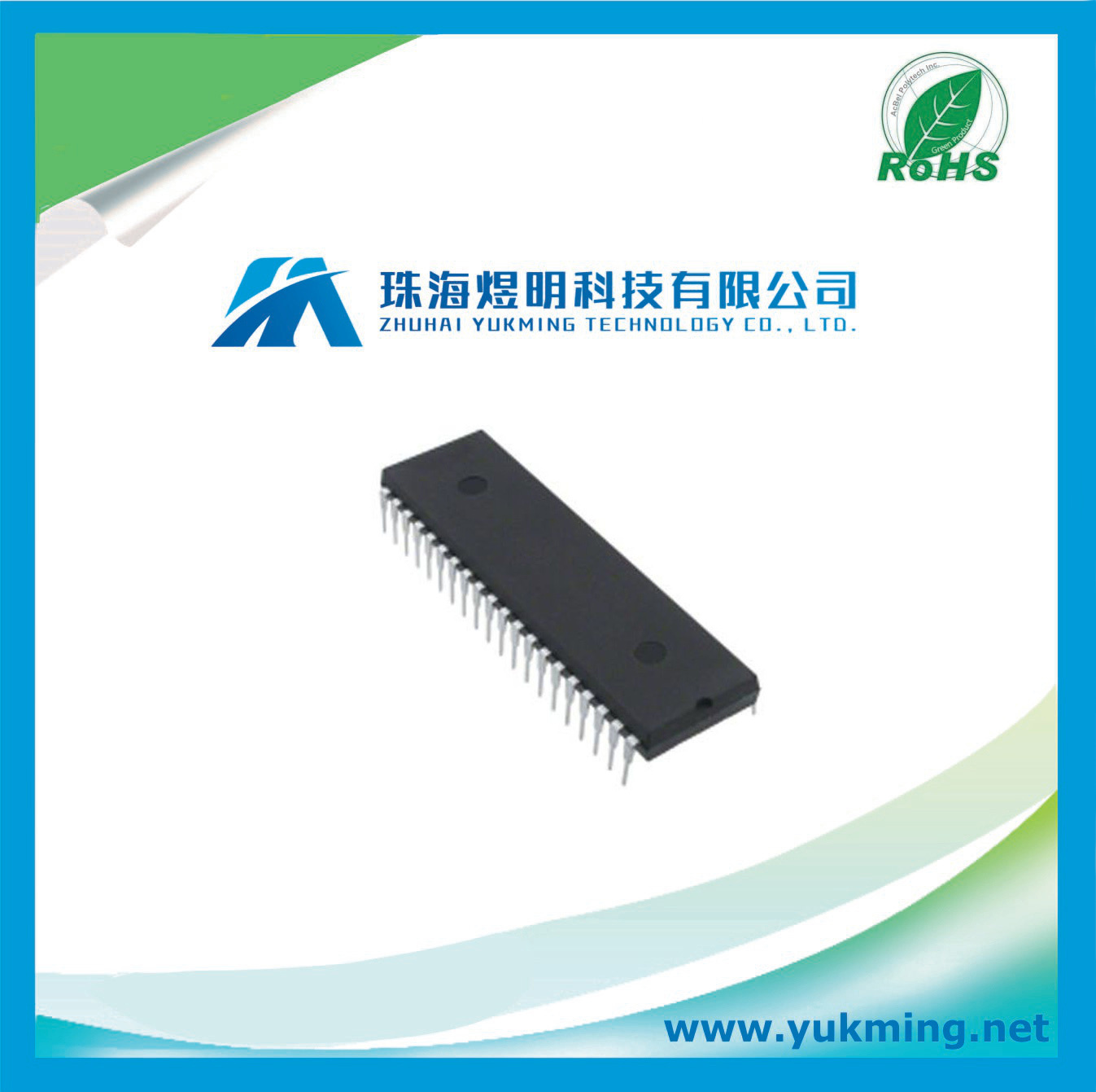 China Lcd Driver Ic Integrated Circuit Icl7106cpl Electronic Uln2003 Component Electronics Stock