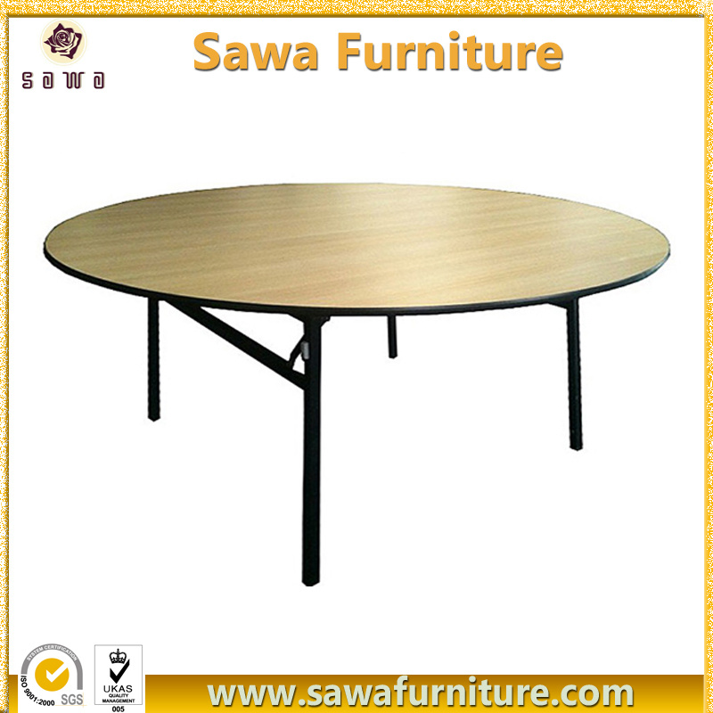 China Wholesale Folding Round Hotel Banquet Table   China Round Table,  Dining Table
