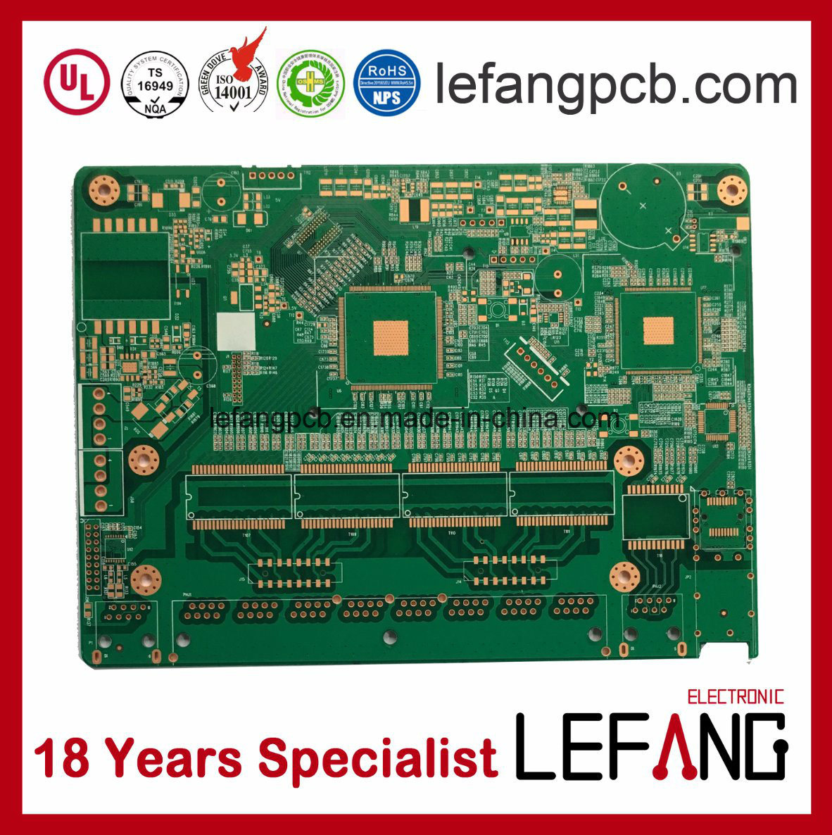 Wholesale Multilayer Circuit Board Buy Reliable Printed Fabrication Single Layer Pcb To High 26 Layers Bare Specialist
