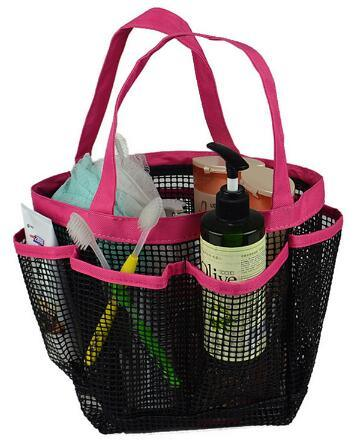 China Mesh Shower Tote Caddy Baskets Hanging Bag Toiletry Bath ...
