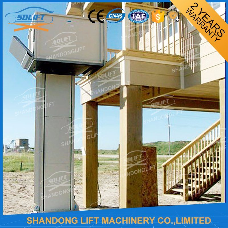 1m - 10m Vertical Wheelchair Lift Outdoor Hydraulic Wheelchair Lift pictures & photos