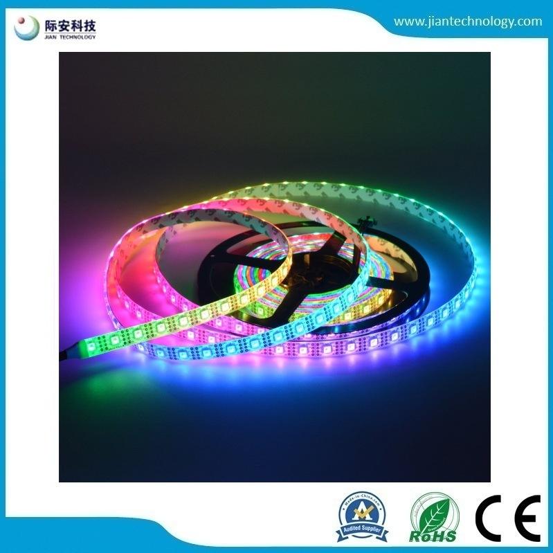 China Apa102c 5v 5050 Smd Rgb 60led M Led Pixel Strip China Led Digital Strip Led Strip Light