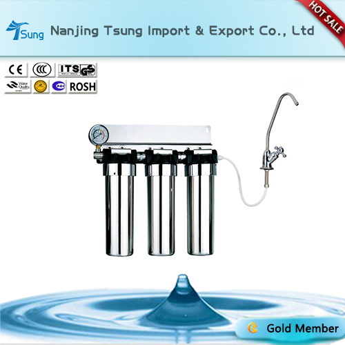 Stainless Steel Three Stage Water Purifier Ty-Ss-6