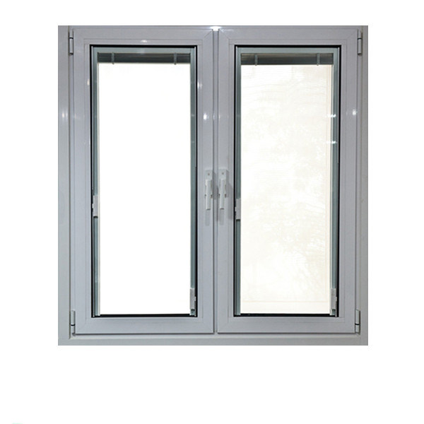 Aluminum Frame Casement Outward or Inward Opening Glass Swing Window